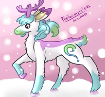 QuestionReindeer Made By thetwinsisters by QuestionUnicorn