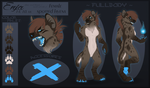 | Enja the Hyena | - reference - by Zeven-Dust
