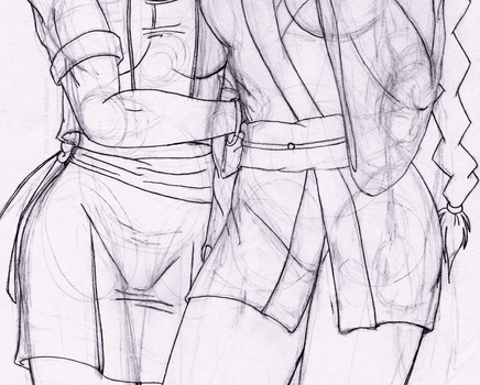 A Fighting Girl's Portrait Second Take WIP Teaser by KiraYamato74
