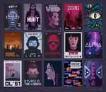 Movieposters by Valenberg