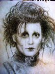 edward scissorhands by DepplyLoveU