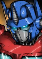 Optimus Prime by Ronniesolano