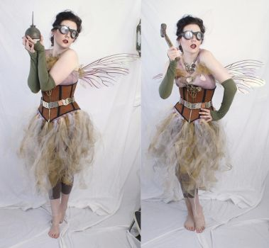 steampunk fairy 1 by magikstock