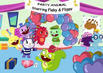 Party Valentines Animal by Bellaura