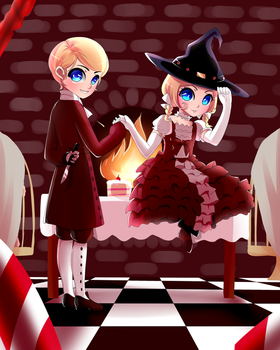 Hansel and Gretel by Kanilope