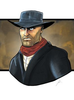 Cowboy by KevinG-art