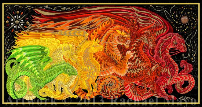 Dragons of Every Dawn final by rachaelm5