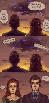 Tenth Doctor Adventures: Death and the Queen by anni-viech