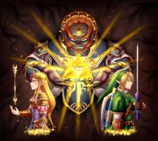 30th anniversary of Zelda - Eternal Fight by Isi-Daddy