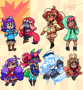 Autumn Girls 2017 by The-Knick
