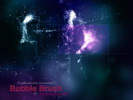 Bubble brush by FuelFireDesire