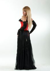 Tanit-Isis Red Corset IV by tanit-isis-stock