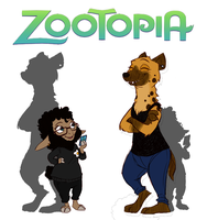 Zootopia Re Design by Thea0605