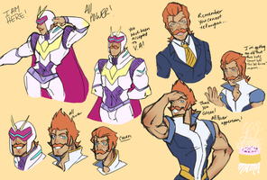 All Power/ Coran by LilCinnamonRollMama