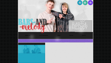 Ordered Layout ft. Bars and Melody by Kate-Mikaelson