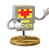 Mettaton Trophy Smashified Turn around. by Zesiul