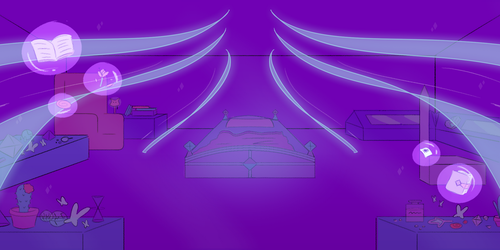 (OLD) Outcast Court - Galaxy Diamond's Room by netflixandsapphire