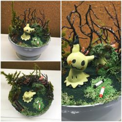 PBT Collage - Haunted Woods Mimikyu by TheVintageRealm