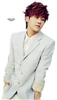 [PNG] INFINITE - Sunggyu by fybebeth1996
