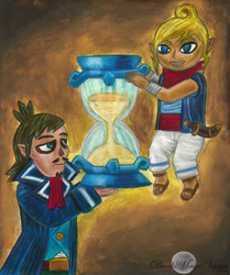 .:The Sand Inside Your Hourglass:. by DarkWindCimba