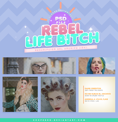 Rebel Life Bitch by XCXPEDRO