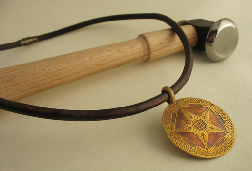 Coming soonish: Riven Crest pendants by rivenwanderer
