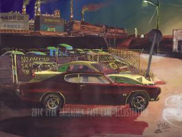 The Life Story Of A 1970 Chevy Chevelle (Part 35) by FastLaneIllustration