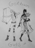 Gotham Girls YJ by mythmischief