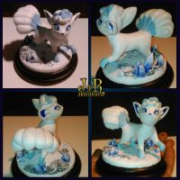 Alolan Vulpix by xbounded