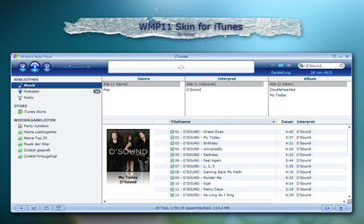 WMP 11 Skin for iTunes 7 by MrToNeR