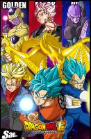 Dragon Ball Super Sagas by SaoDVD