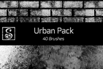 Shrineheart's Urban Pack - 40 Brushes by Shrineheart