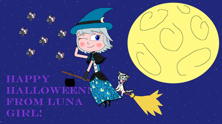 Happy Halloween! From Luna Girl! by Cmanuel1