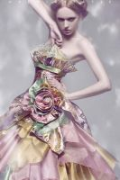 Wedding Dress Fashion 001 by Suuperx