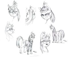 Moondancer studies by Baron-Engel