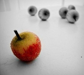 Lonely Apple by youngheartALC