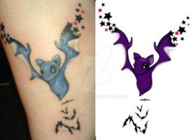 Batty Tattoo by goth-alice