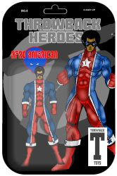 Throwback Toys Afro American by RWhitney75