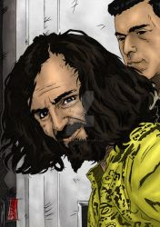Charles Manson Artwork 1 by The-Real-NComics