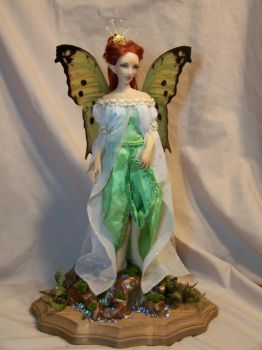 'Theia'  Luna moth Fairy 1 by AmandaKathryn