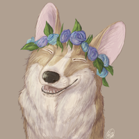 Live on mead and flowers. by corgimancy