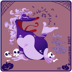 Raylloween 09 - Anthe by raygirl