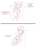 Saeran X MC by Curryn-chan