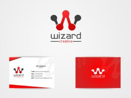 My new official Logo ! by WizardCreative