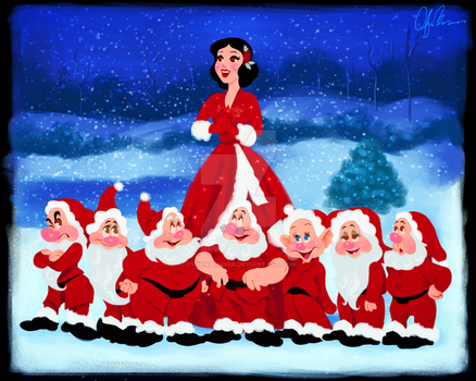 Snow White Christmas by DylanBonner