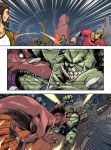 HULK 2099 vs TREX page 012 by AndronicusVII