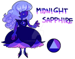 revealed mystery adopt Midnight Sapphire by CrabStag