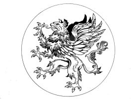 Griffin_logo_inks_commissions by ARTTHAM