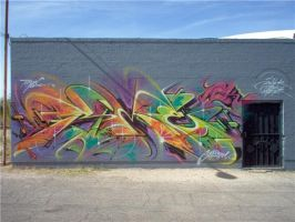 Tucson Graffiti 1 by DonnaSprockets