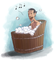 Bathtub  Singing by Windmaedchen